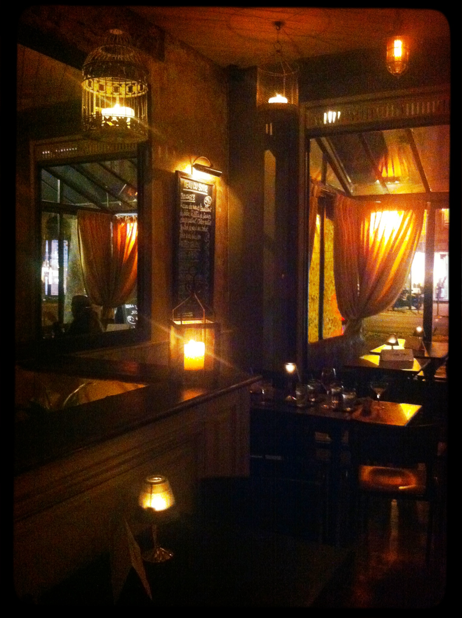 Restaurant Famille Paris Noel