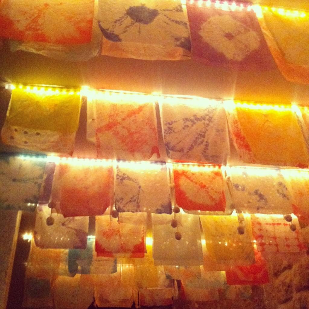 Mary Celeste - Plafond de couleur au sous-sol