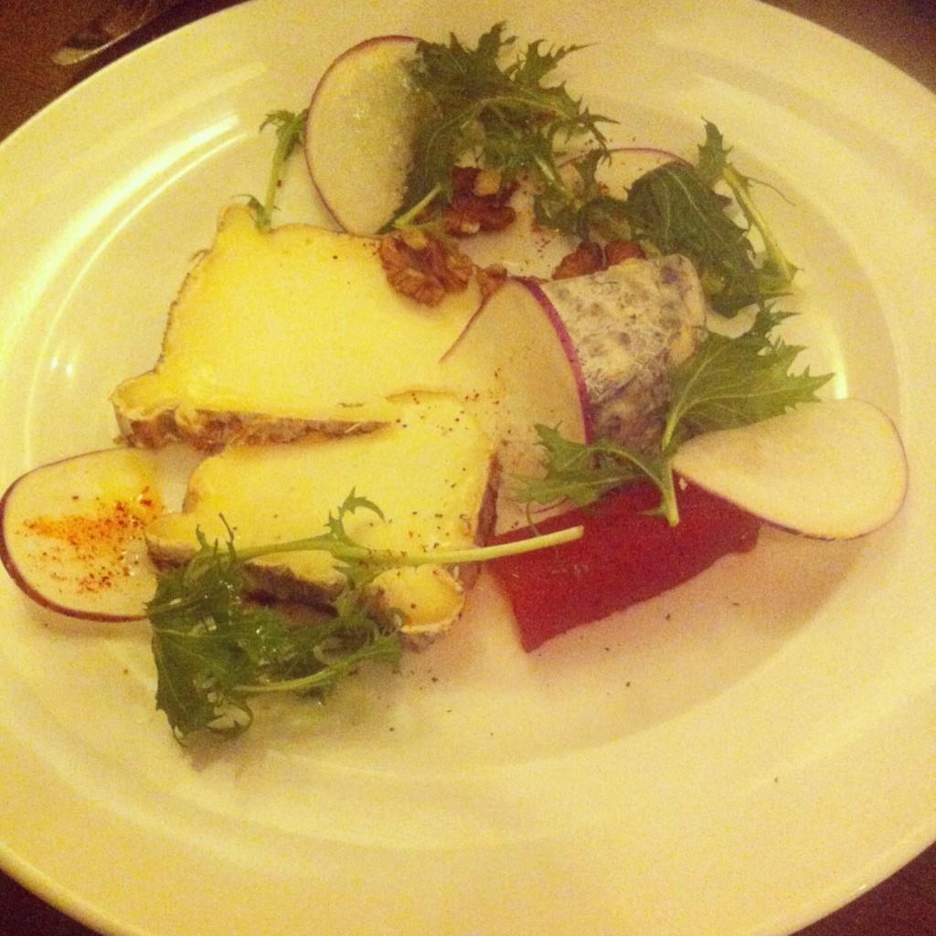 Albion - Assiette de fromages
