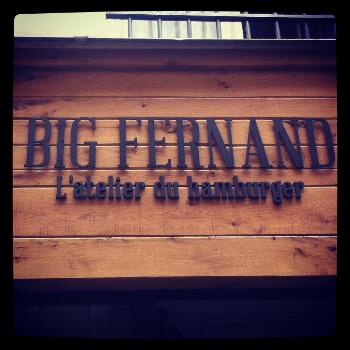 Big Fernand - L'atelier du hambuger