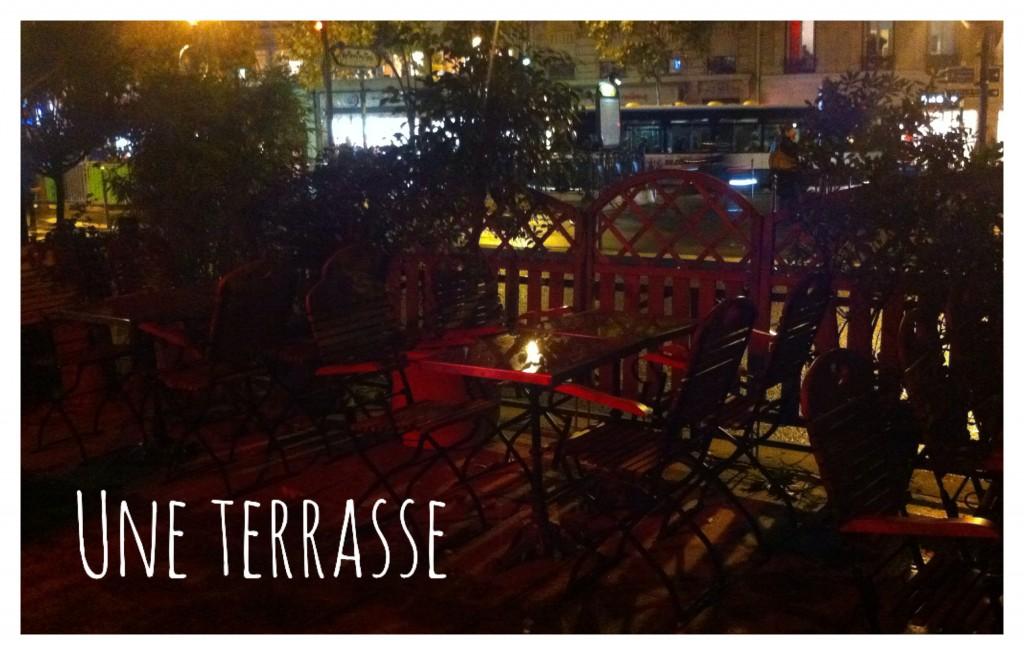 Shake n'Smash - Terrasse