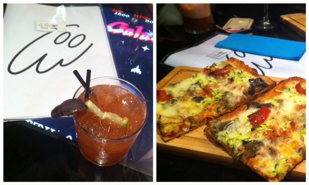 Le Fantôme - Cocktail et pizza