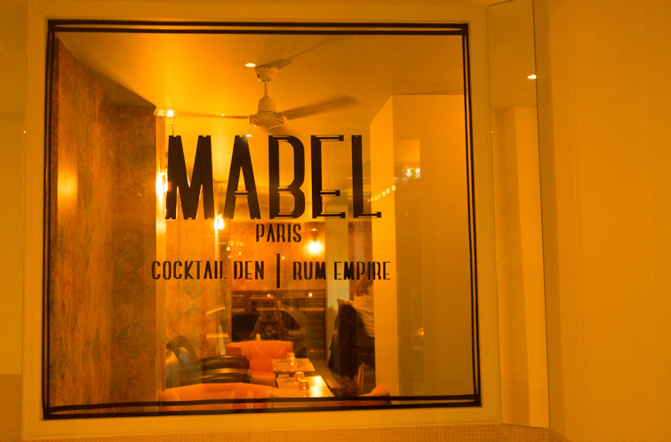 MABEL - bar à cocktails - paris - 2e