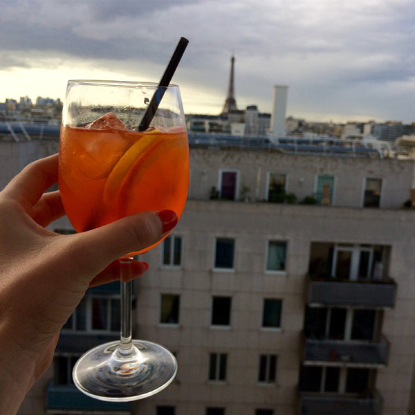Rooftop paris - LOUNGE BAR VIEW DU NOVOTEL VAUGIRARD