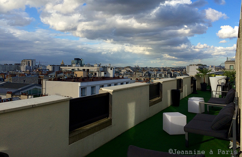 Rooftop - LOUNGE BAR VIEW DU NOVOTEL VAUGIRARD