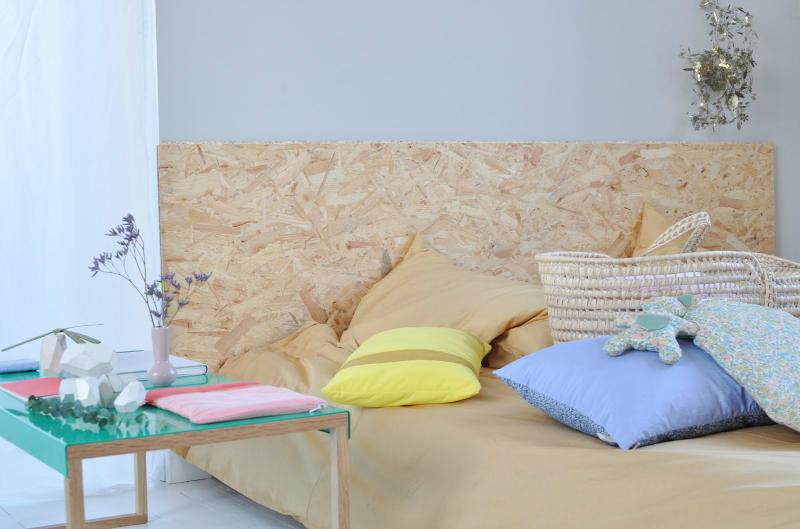 Diy 6 id es de t te de lit jeannine paris - Idees tetes de lit a faire soi meme ...
