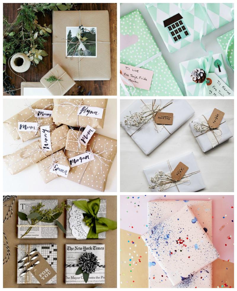paquets cadeaux noel