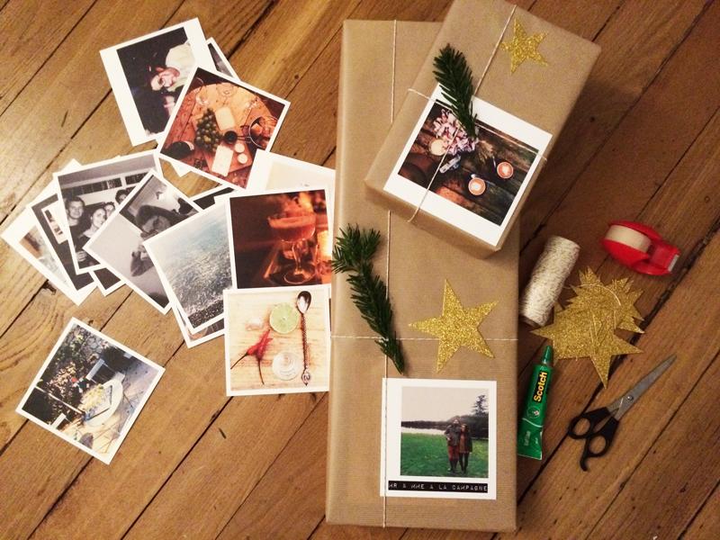 cadeaux noël emballage craft
