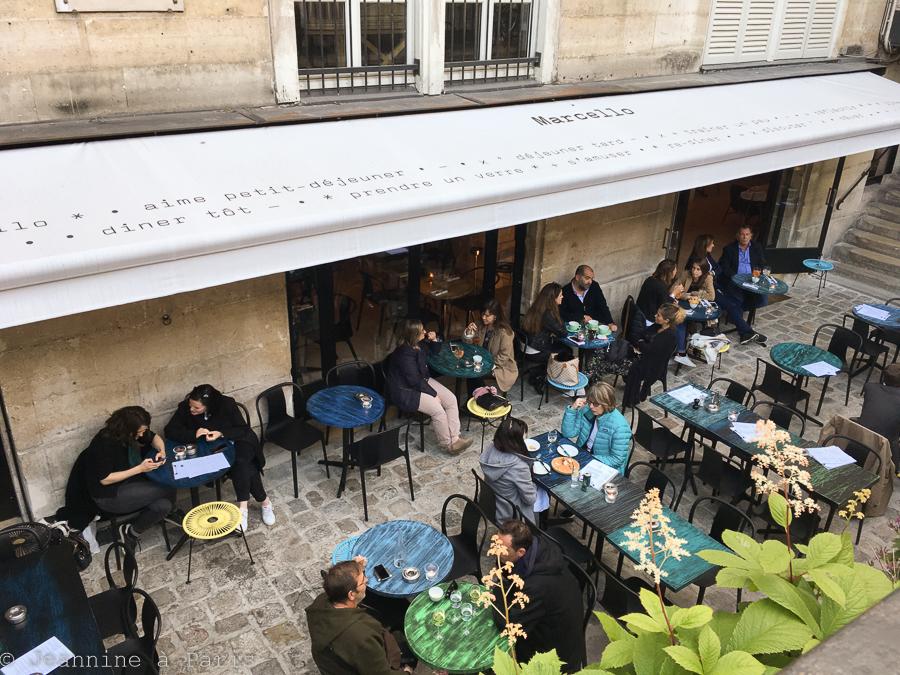 Marcello La Terrasse De L Ete Jeannine A Paris